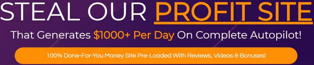 The CB Profit Sites Review - Steal our profit website