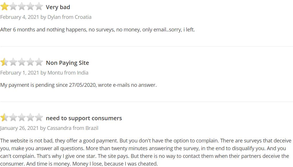 surveytime.io review - Trustpilot #4
