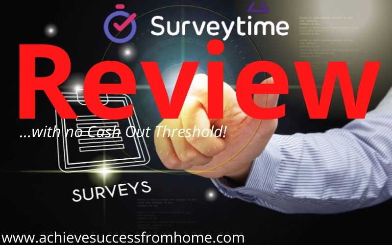 Surveytime.io Review - Paid out instantly which is something we don't normally see!