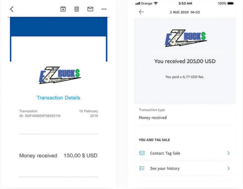 Ez Bucks Review - Fake payment proofs