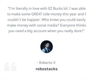 Ez Bucks Review - Fake testimonials