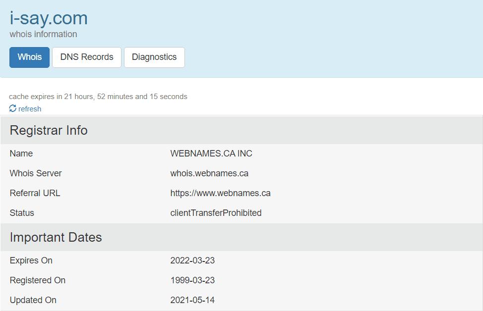 Is Ipsos I say a scam - Ipsos i say domain registration