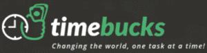 Is Timebucks Legit - Timebucks logo