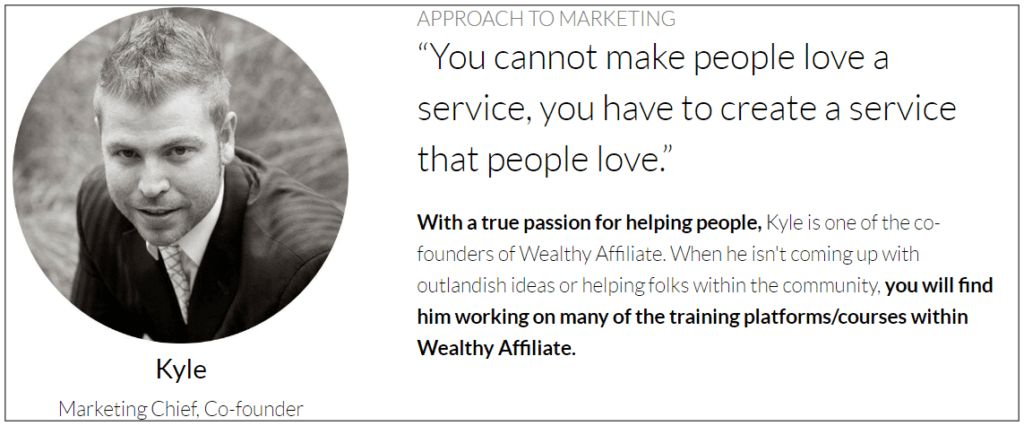 What about the wealthy affiliate community - Wealthy affiliate co-founder