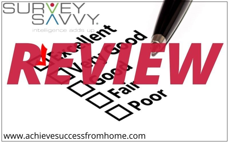 SurveySavvy Review - Still using Checks as the main payment method!