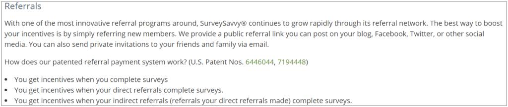 is surveysavvy legit - Surveysavvy referral information