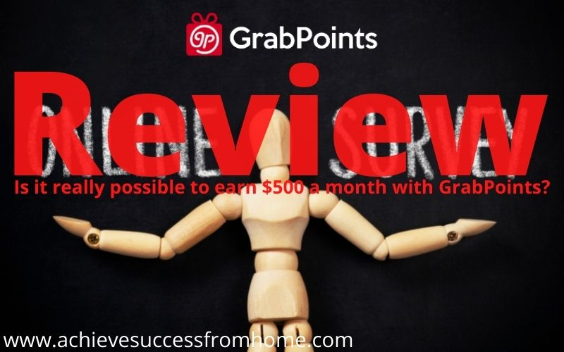 What is GrabPoints.com - Can you really make $500+ a month?