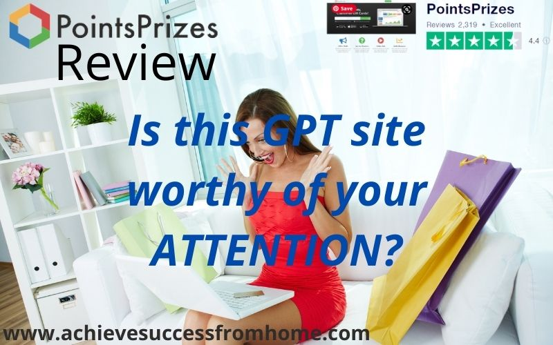 PointsPrizes Review - Does this GPT site float your boat?