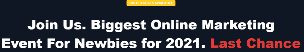The SAS Affiliate review - Limited seats