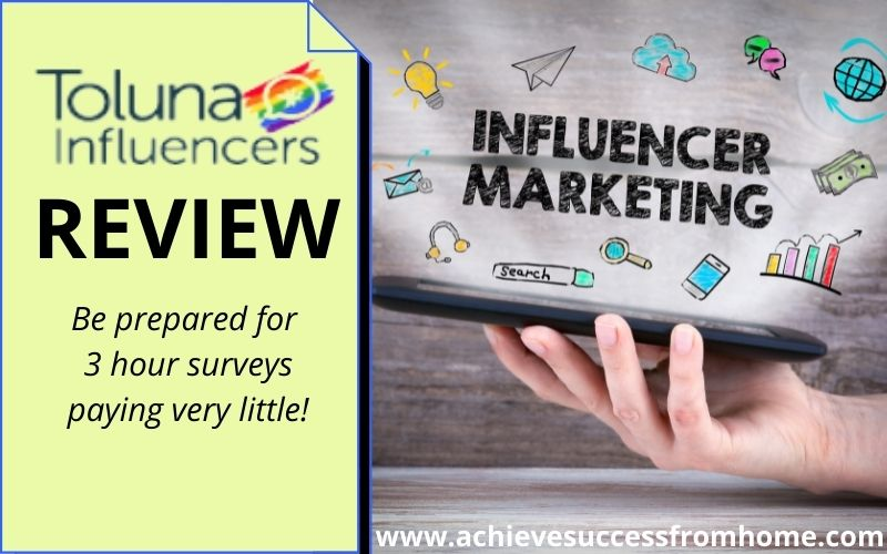 Toluna Influencers Review - Was a great site but how is it now?