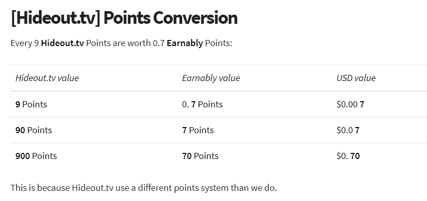 earnably review - video points