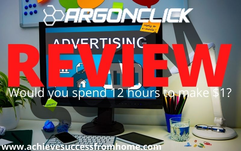 is ArgonClick a scam