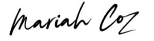 The Mariah Coz Review - Logo