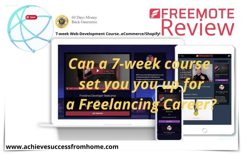 What is Freemote - Can this 7-week software course really teach you enough?