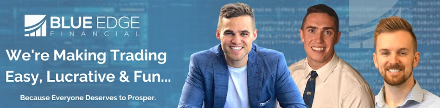 what is blue edge financial - the 3 founders