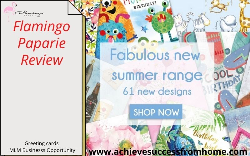 Flamingo Paperie Review - Is it possible to make a living selling greetings cards?